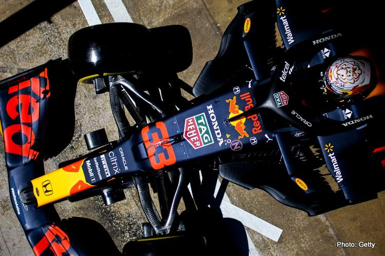Marko about max verstappen red bull rb16b-001