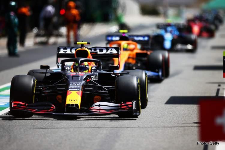 Portuguese Grand Prix pitlane