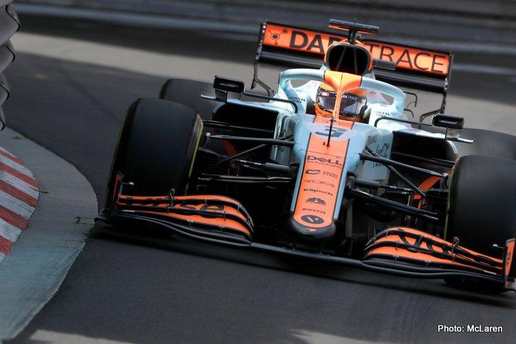 Ricciardo Monaco McLaren 2021