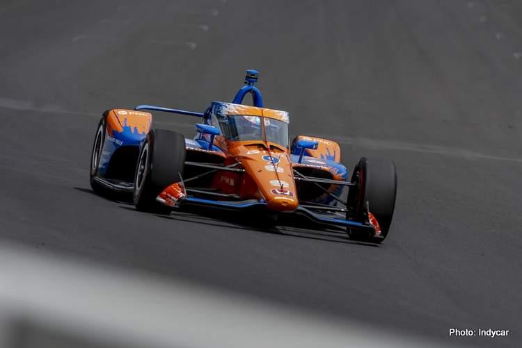scott dixon indy 500 2021 qualifying