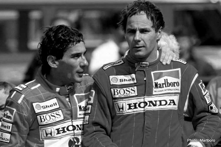 ayrton senna gerhard berger McLaren