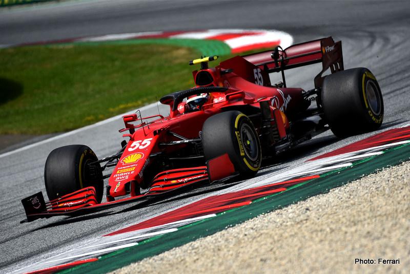 GP STYRIA F1/2021 - DOMENICA 27/06/2021 credit: @Scuderia Ferrari Press Office Sainz