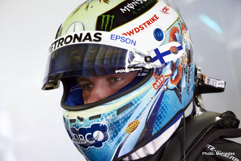 Bottas 2021 Monaco Grand Prix, Thursday - Steve Etherington