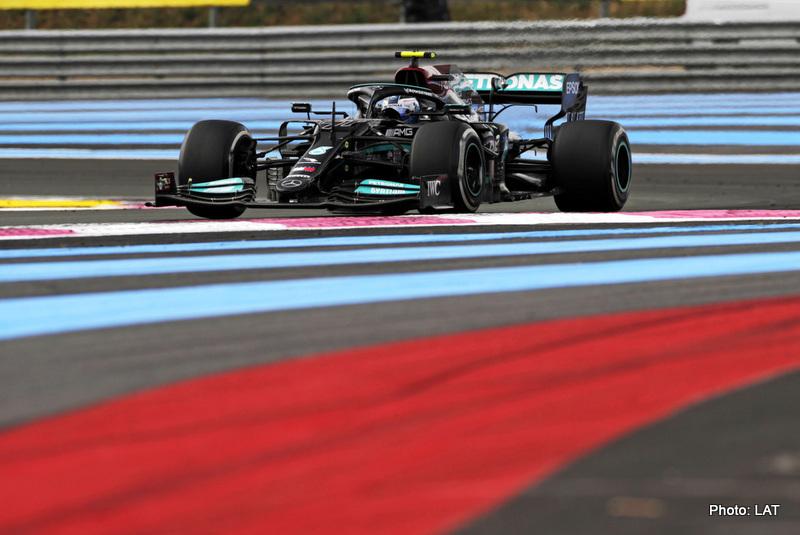 Wolff Bottas 2021 French Grand Prix, Sunday - LAT Images