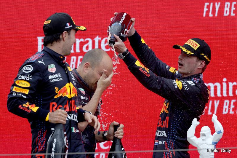 Verstappen Perez French Grand Prix