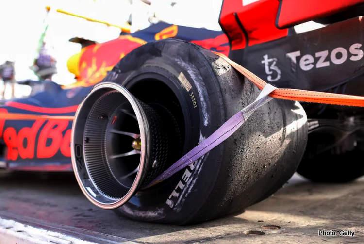 défaillance des pneus pirelli de baku