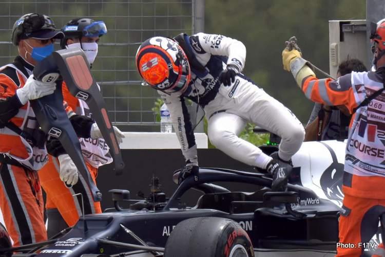tsunoda crash french grand prix