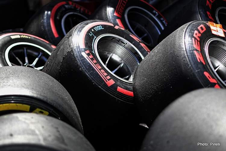used-pirelli-tyres-f1 formula 1
