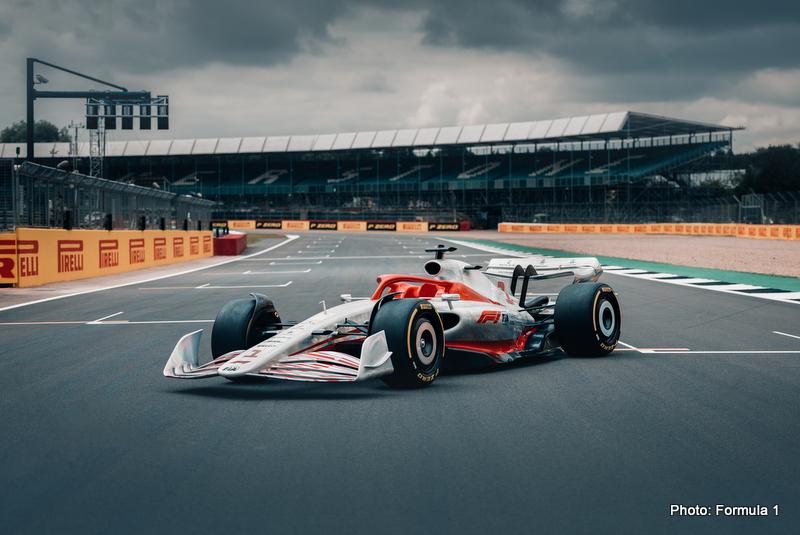 2022 F1 Car Silverstone Grid technical