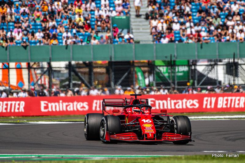 Leclerc GP GRAN BRETAGNA F1/2021 - SABATO 17/07/2021 credit: @Scuderia Ferrari Press Office