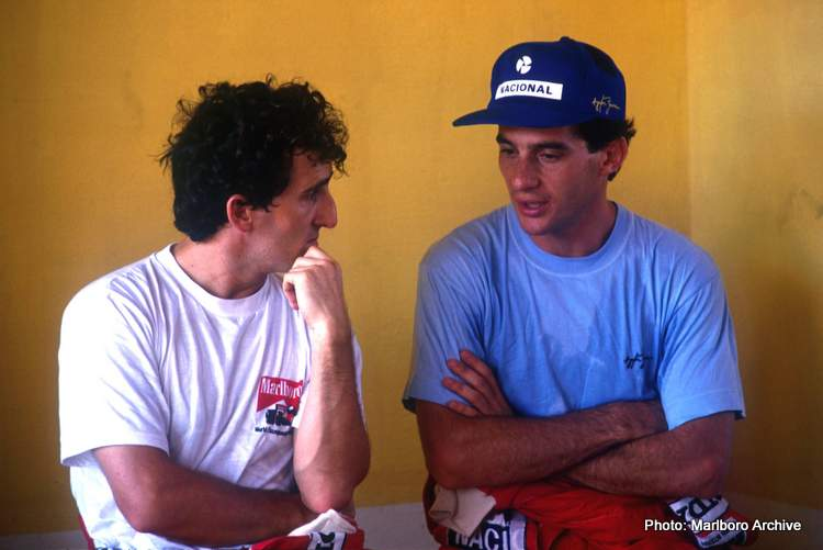 Prost Senna Verstappen