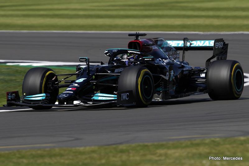 2021 British Grand Prix, Sunday - LAT Images Mercedes