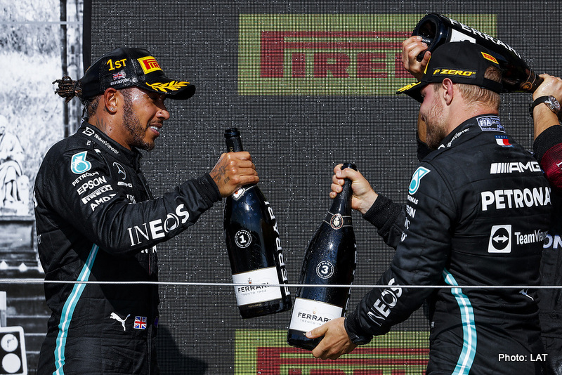 2021 British Grand Prix, Sunday - Jiri Krenek Hamilton