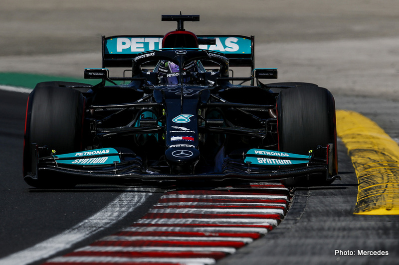 2021 Hungarian Grand Prix, Friday - LAT Images Hamilton