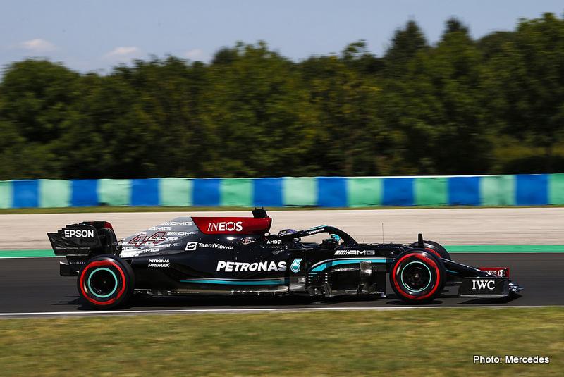 2021 Hungarian Grand Prix, Friday - Jiri Krenek Hamilton
