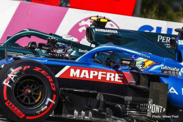 alonso vettel incident austrian grand prix