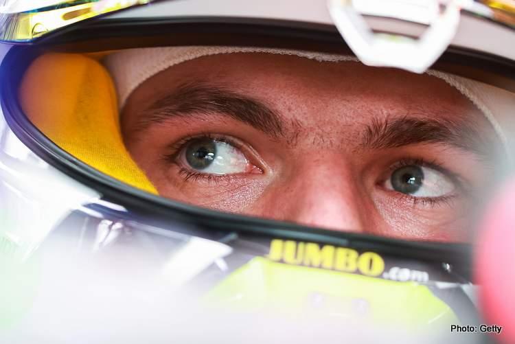 max verstappen eyex austrian grand prix