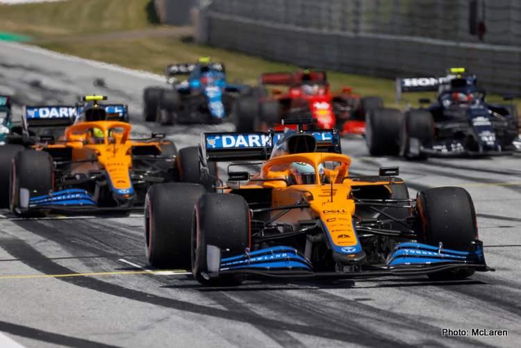 Formula 1 betting mclaren mercedes red bull