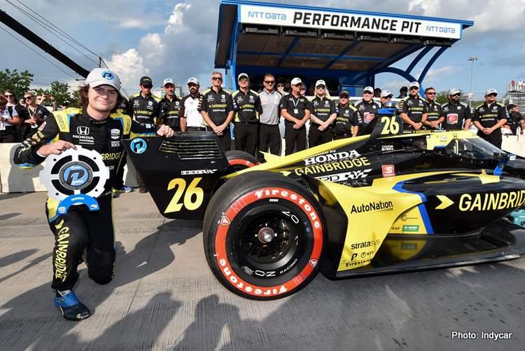Indycar Nashville-Herta-P1Award