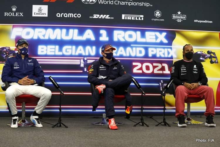 2021 Belgian Grand Prix qualifying press conference