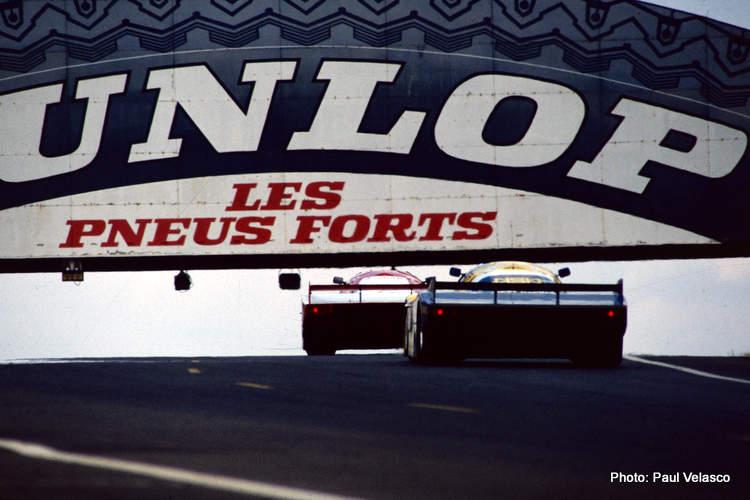 Le Mans Dunlop Bridge