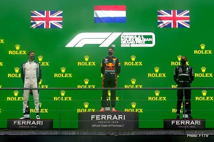 podium spa 2021 Belgian Grand Prix