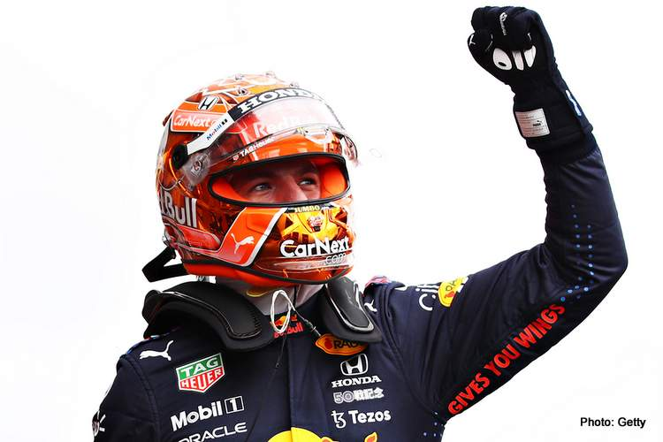 verstappen pole position 2021 Belgian Grand Prix