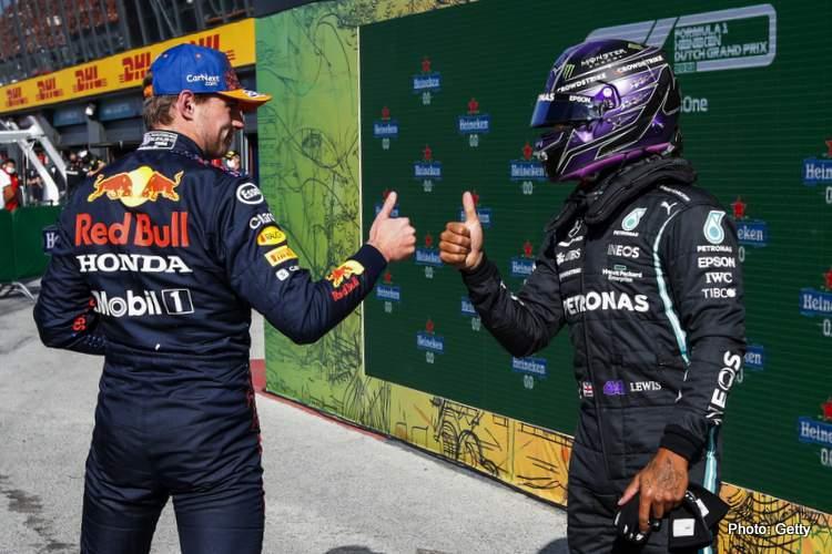 Hamilton verstappen zandvoort qualifying