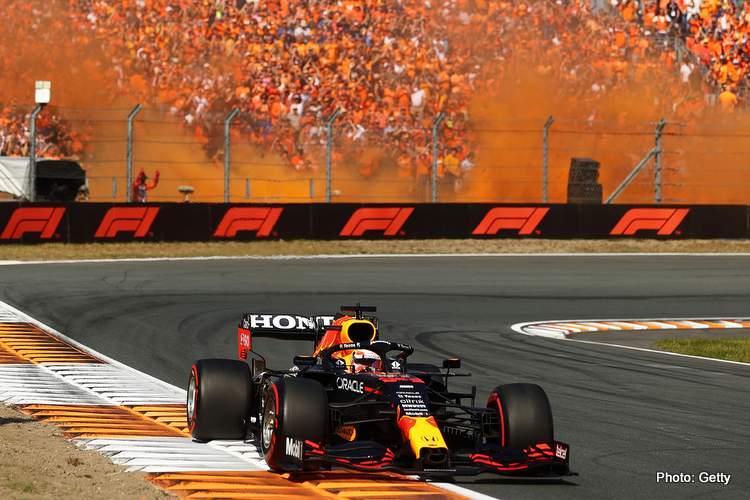 Verstappen wins 2021 Dutch grand prix orange army f1 fans