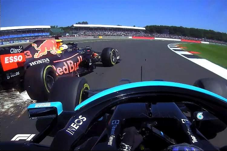 domenicali says keep it clean after F1-Verstappen-Hamilton-collide-Silverstone-2021-crash