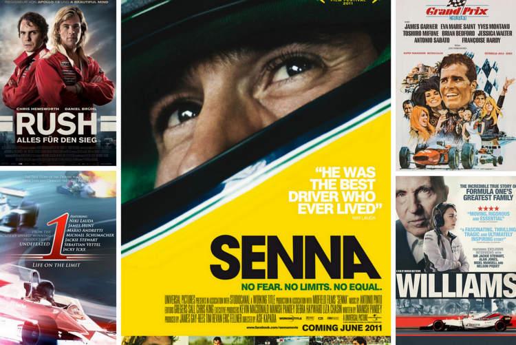 F1 movies formula 1 films cinema covers