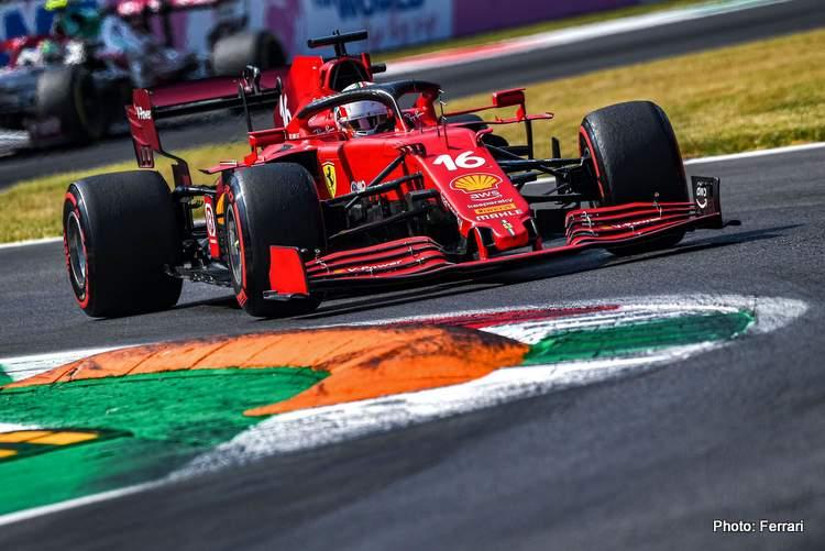 Photo : Ferrari leclerc