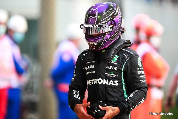 Lewis Hamilton sprint race mercedes 2021 2021 Italian Grand Prix