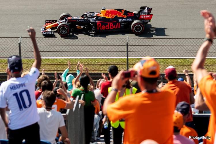 Max Verstappen dutch grand prix 2021 winner