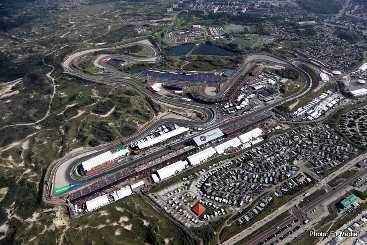 formula 1 zandvoort aerial 2021 dutch grand prix