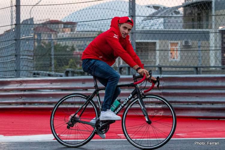 leclerc vélo sotchi