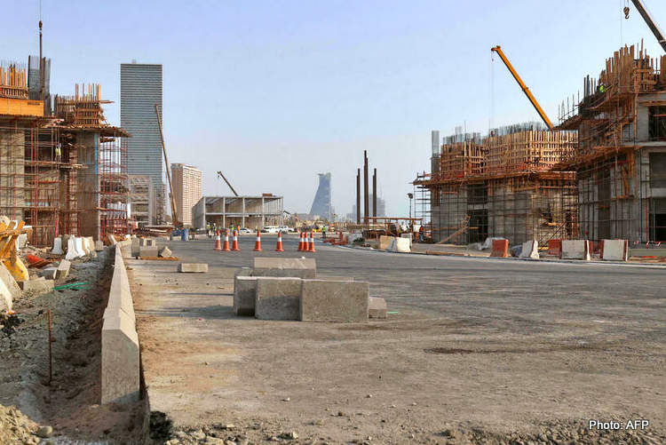 saudi arabia grand prix construction