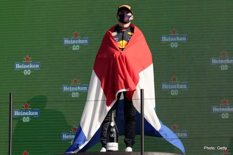 button and rosberg impressed with max verstappen dutch grand prix winner 2021 podium zandvoort