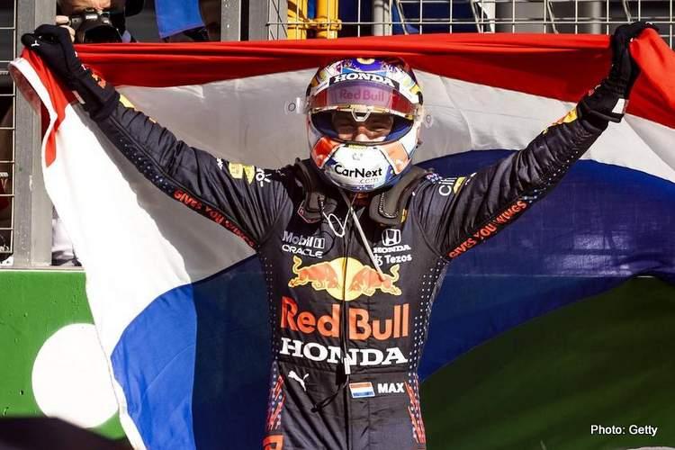 verstappen zandoort red bull winner dutch grand prix