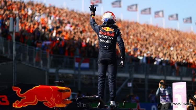 dutch grand prix verstappen zandvoort winner