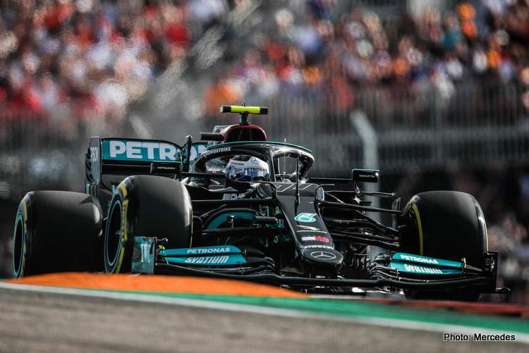 Bottas finished sixth at the 2021 US GP after receiving a five-place grid penalty for a new engine.