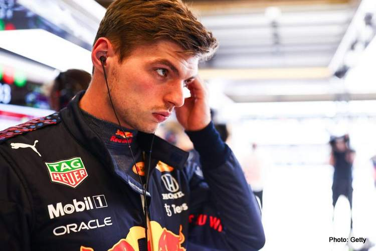 Max Verstappen upset with Lewis Hamilton after FP2 track incident at the 2021 US GP
