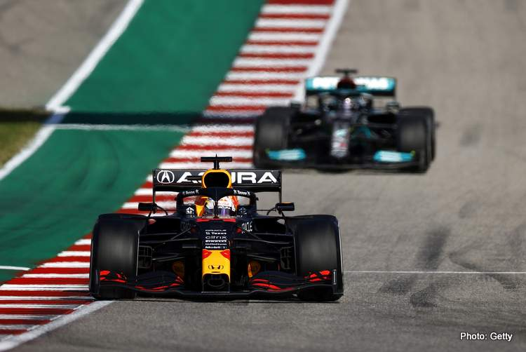 Max Verstappen won the 2021 US GP under extreme pressure from Lewis Hamilton