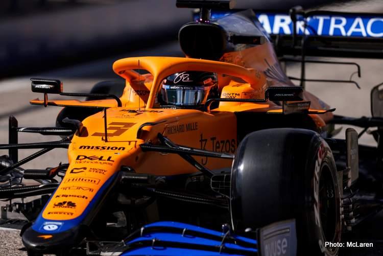 Daniel Ricciardo finished fifth at the 2021 US Grand Prix