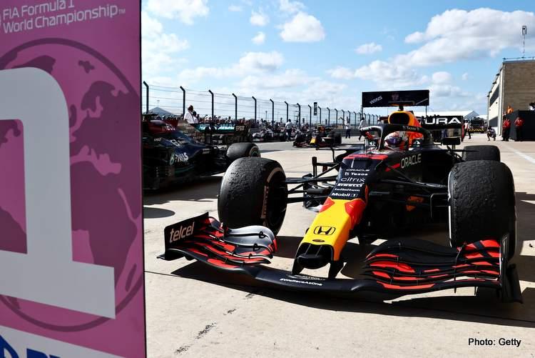 start F1 Grand Prix of USA austin