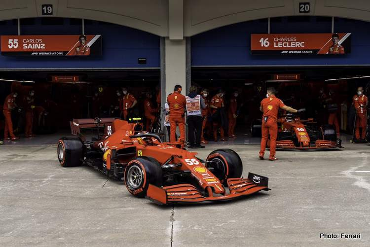 Carlos Sainz ready to live with the bumps in the COTA for the United States Grand Prix