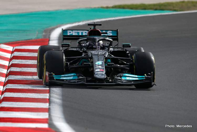 Hamilton fastest in FP2 at the 2021 Turkish Grand Prix in Istanbul
