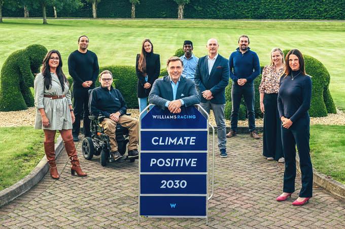 climate positive williams