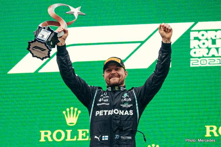 turkish grand prix bottas winner podium