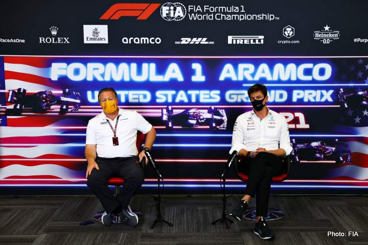 wolff brown press conference united states grand prix